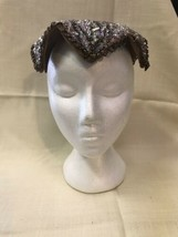 Vintage Gimbel Brothers Sequin Fascinator Hat - $116.10