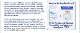 MediViral Extra Strength Herpes Daily Supplement Remedy Shingles image 4