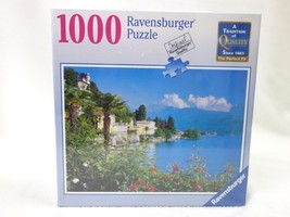 Ravensburger 1000 Piece Jig Saw Puzzle 813575 Lake Maggiore 27x20 Sealed 2013  - $14.50