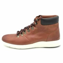 Cole Haan Mens Grand Plus Essex Hiking Boots Brown Mid Top Lace Up 8.5 M... - $59.97