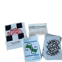 VINTAGE Mille Bornes French Auto Race Card Game Parker Brothers 1982 Com... - $19.99