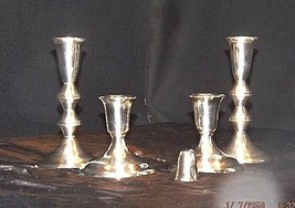 Candlestick Holders Weighted Set of 5 AB 430 image 2
