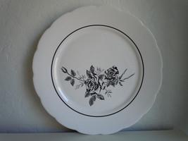 Lenox Ebony Rose Dinner Plate - $6.33