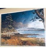 DUFEX FOIL ART PRINT Loch Sunart and Ben Resipol Made in England 155237 - $16.82