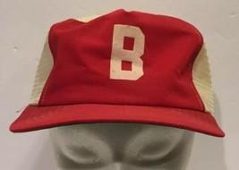 Vintage Boston Red Sox New Era Mesh Snapback Baseball Hat Cap Made In US... - $46.74