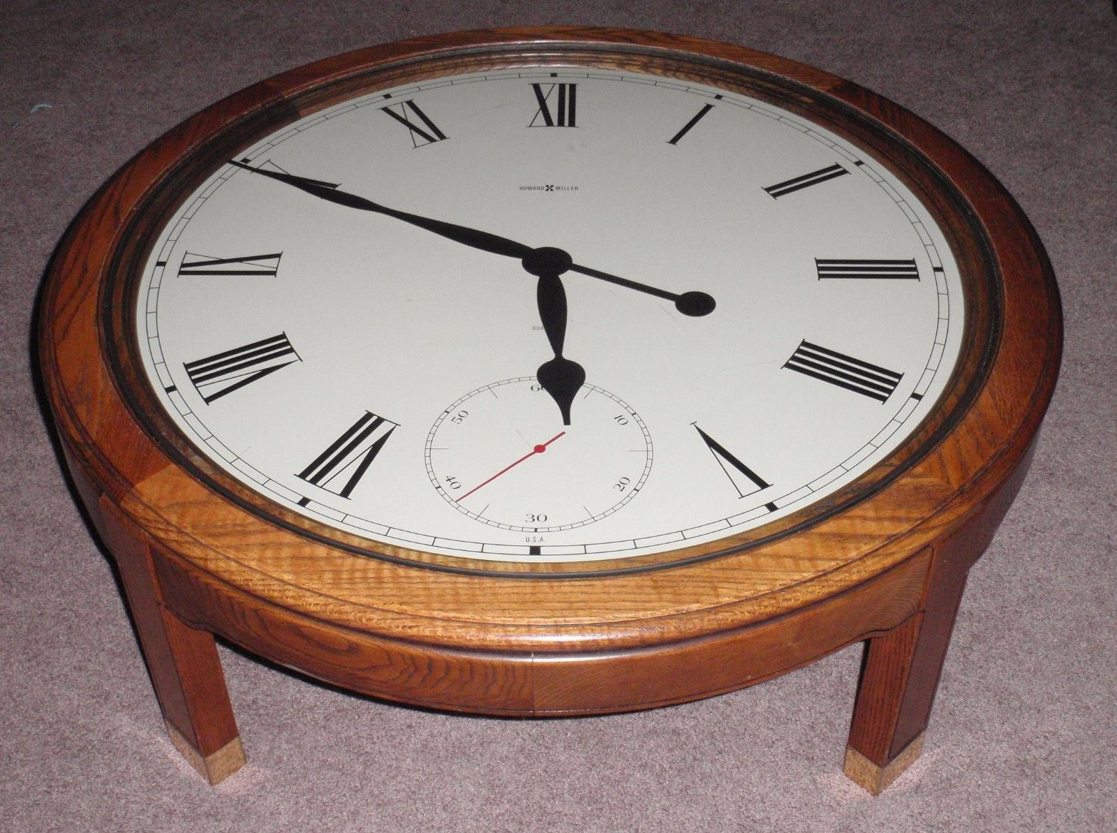 Howard Miller Floor Wooden Table Clock Model And 50 Similar Items