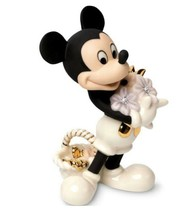 Lenox Mickey's Flowers For You Figurine 789416 New In Box - $29.69