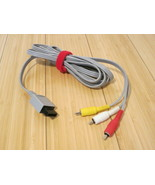 Original Nintendo Wii -  Audio Video Cable - AV Cord - Tested | Working ... - $8.59
