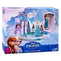 Disney Frozen Elsa's Ice Skating Rink Play Set from Mattel DFR88 Elsa Skates! - $22.69
