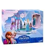 Disney Frozen Elsa's Ice Skating Rink Play Set from Mattel DFR88 Elsa Sk... - $22.69
