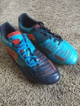 Puma soccer cleat size 11.5 , PWR-C 2.12 Teal & Navy Mirror Swap Colorway - $53.30