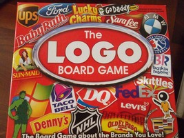 The Logo Board Game Ages 12 & Up 3-8 Players Adults Fast Food Favorites - $24.95