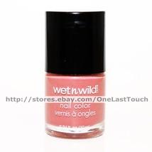 WET n WILD Nail Polish/Color #34207 FATIGUE GLAM Pink Mauve+Textured TOU... - $6.98