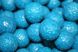 GUMBALLS BLUE RASPBERRY BUBBLE GUM 25mm or 1 inch (114 count), 2LBS - $25.89