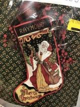 New Something Special Victorian Santa Christmas Stocking Cross Stitch Kit 50659 - $27.55