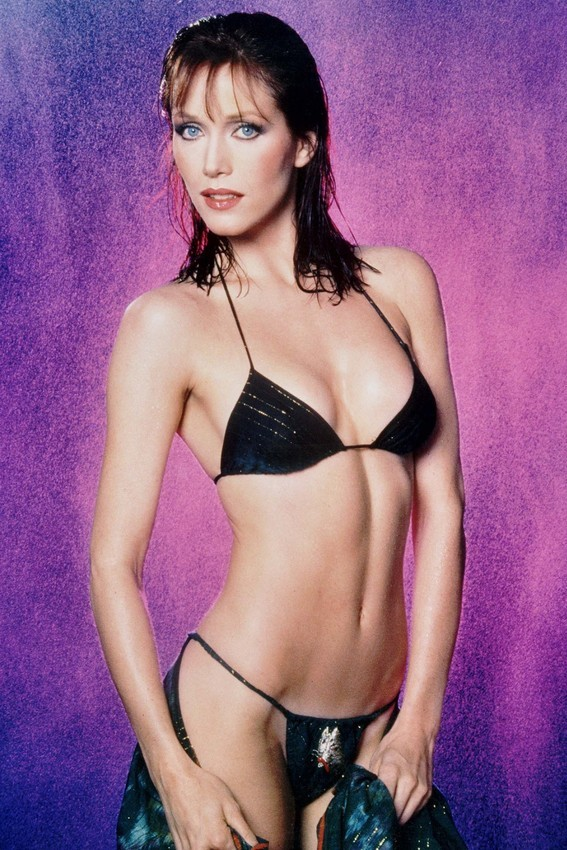 Primary image for Tanya Roberts in Charlie's Angels skimpy bikini stunning pin up 18x24 Poster