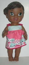 Hasbro Baby Alive Doll African American 2014 NO Bottle - $22.43