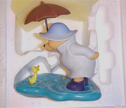 "Disney Pooh & Friends  ""We'll Share Forever Whatever the Weather""  Figurine - $26.20"