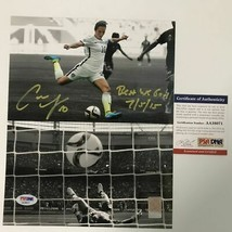 Autographed/Signed CARLI LLOYD Inscribed USA World Cup 8x10 Photo PSA/DN... - $74.99