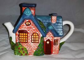 Thomas Kinkade Cottage Teapot - $14.96
