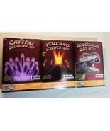 Neu Entdecken mit / Dr Cool 3-pack Pack Lernen Science Set - Kristall Vu... - $512,51 MXN