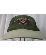 London England Strapback Baseball cap hat -  Tourist souvenir embroidere... - $3.47