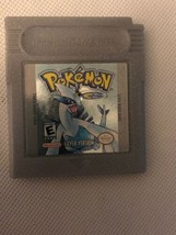 Nintendo Gameboy Color Pokemon Silver Version Cartridge Only - $24.30
