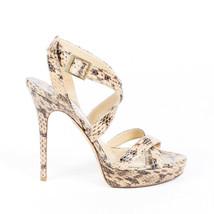 Jimmy Choo Louisa Python Sandals SZ 40.5 - $185.00