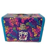 Lisa Frank Roxie And Rollie Siamese Twin Cats Neon Stationary Latch Box ... - $99.99