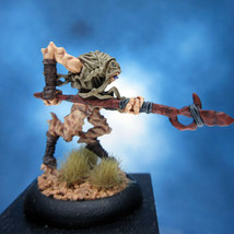 Painted Privateer Press Miniature Darkage Dragyr Slave Spearman - $29.79