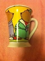 SIGNATURE COFFEE MUG / CUP----BEARS by URSULA DODGE----FREE SHIP----VGC - $12.22