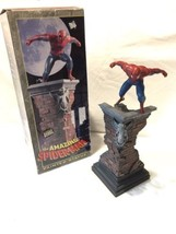 Amazing Spider-Man Painted Statue Sculpted By Randy Bowen Designs Limite... - $247.49
