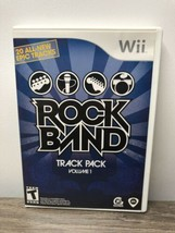 Rock Band Track Pack: Vol. 1 (Nintendo Wii, 2008) - $9.89