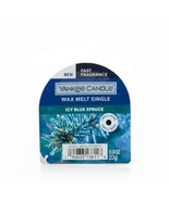 Yankee Candle Icy Blue Spruce Wax Melts (6) Six - $18.00