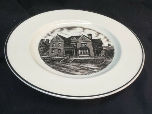 """Tri State Pottery Festival 1989 Homer Laughlin Home 10 1/4"""" Plate by Hans Hacker"""