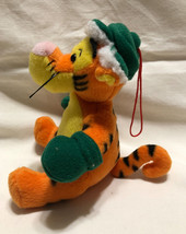 "Disney Tree Ornament, Tigger Decked In Green Cap & Gloves 5"" Tall - Used - $7.99"