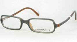 Emporio Armani Ea 641 555 Dull Teal /BROWN Eyeglasses Frame 48-16-135mm Italy - $67.32