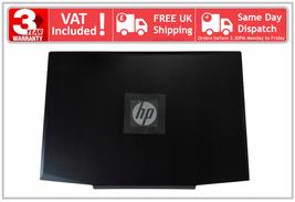 HP Pavilion 15-CX 15T-CX Black Back LCD TopLid Rear Cover Silver Logo L20314-001 - $76.50