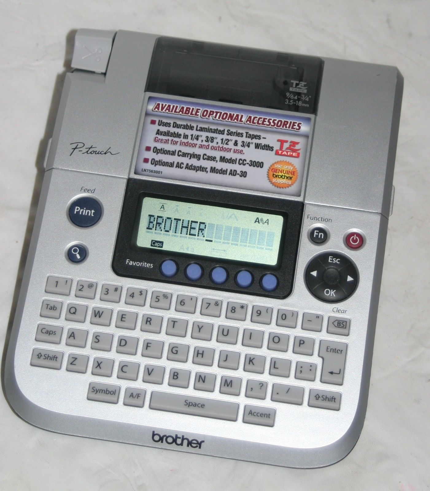Brother P Touch Pt 1830 Tz Tape Label Maker And 19 Similar Items