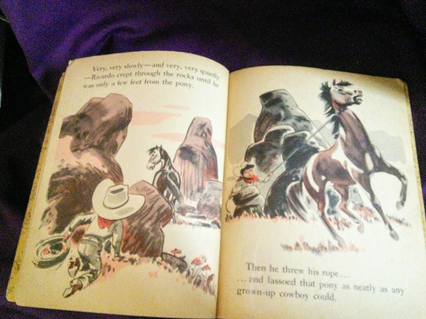 Hopalong Cassidy and the Bar 20 Cowboy First Edition 1952 Little Golden Book