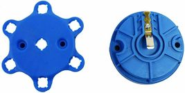 A-Team Performance 6-Cylinder Male Pro Series Distributor Cap & Rotor Kit BLUE image 6