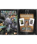 America's Most Wanted Marijuana Playing Cards 2006 NEW SEALED - $8.79