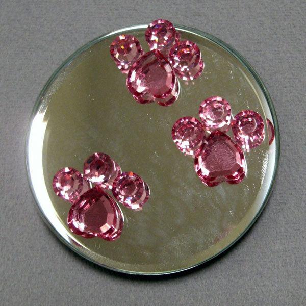 Crystal paw print mgmi pawp03