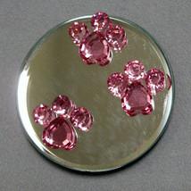 Pawprint Mirror Magnet image 1