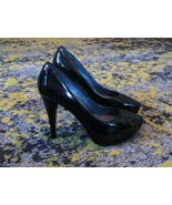 Kenneth Cole Shoes - Ring True Patent Leather Platform Pumps Heels in Bl... - $45.56