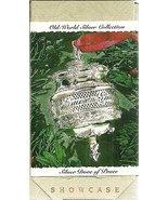 Hallmark Keepsake Ornament Silver Dove of Peace Old World Silver Collect... - $5.94