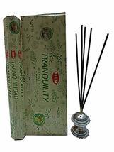 Hem Tranquility Incense Sticks Indian Natural Fragrance Agarbatti 12 Packs - $13.99