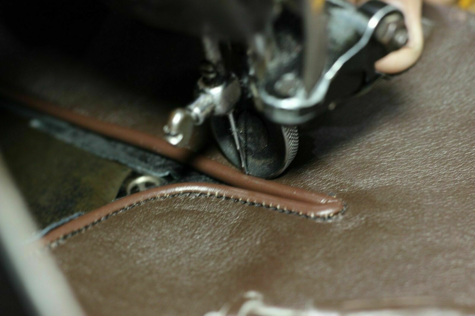 Handmade Men's Leather Brown Ostrich Print Cowboy Mexican Western Hunter Boots image 4