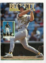 Beckett Baseball Monthly  MARK MCGWIRE   #89  AUGUST 1992    EX++++ - $17.87