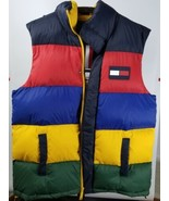 Tommy Hilfiger Men's Down Multi Color Zip Up Puffy Winter Vest Size XXL ... - $128.88
